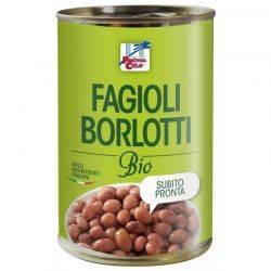 Fasole Borlotti bio x 400g La Finestra sul Cielo