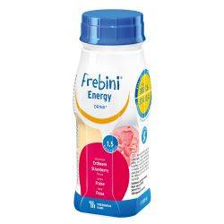 Frebini energy drink capsuni x 200ml Fresenius Kabi