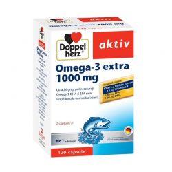 Doppelherz aktiv Omega-3 extra 1000 mg x 120 capsule