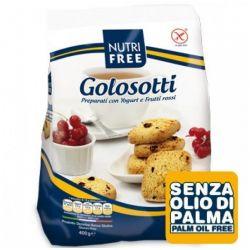 Golosotti Biscutiti cu iaurt si fructe rosii x 400g Nutrifree