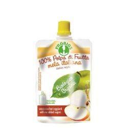 Piure de fructe fara zahar - mere x 100g Probios