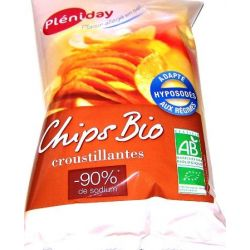Chips hiposodat Bio x 100g Pleniday
