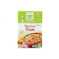 Muesli cu fructe (fara gluten) x 375g JardinBio