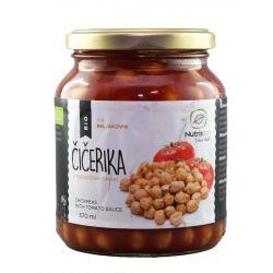 Naut in sos tomate x 350g Nutrisslim