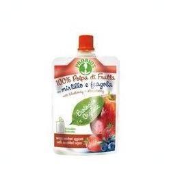 Piure de fructe fara zahar - mere, afine, capsuni x 100g Probios