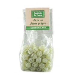 Perle cu miere si kiwi x 100g Apidava