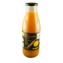 Suc Eco de morcovi si portocale x 750ml Delizum