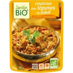 Couscous Eco cu legume x 220g JardinBio