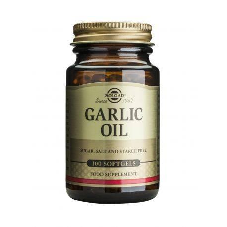 Garlic Oil x 100cps moi Solgar