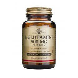 L-Glutamina 500mg x 50 caps Solgar