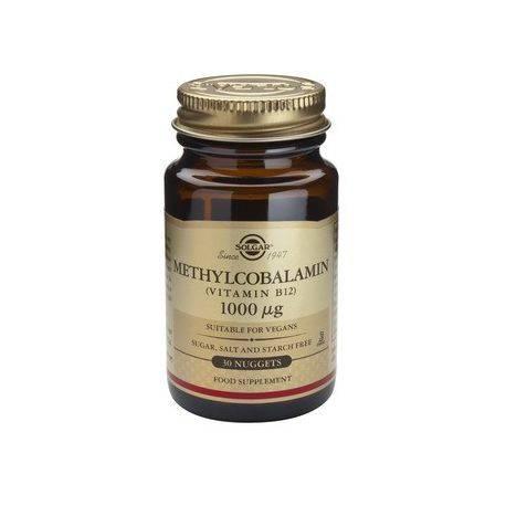 Metilcobalamina Vitamina B12 1000g x 30 tablete Solgar