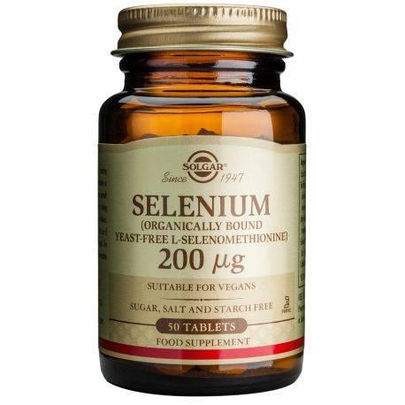 Selenium x 50 tablete Solgar