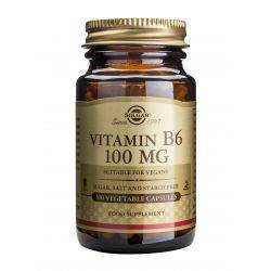 Vitamina B-6 x 100 cap. Solgar