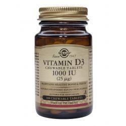 Vitamin D-3 1000 x 100 tb mast. Solgar