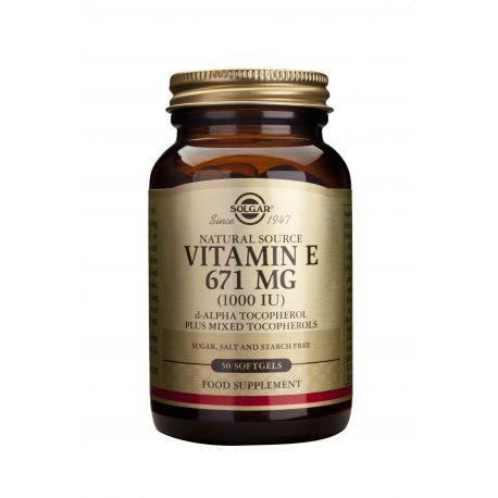 Vitamin E x 50 caps. Solgar