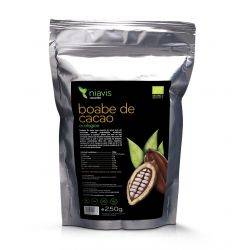 Boabe de cacao intregi Ecologice/Bio x 250g Niavis