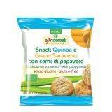 Snack din quinoa si hrisca cu seminte de mac x 35g Probios