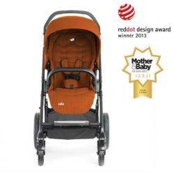 Carucior multifunctional Chrome Deluxe Rust Joie