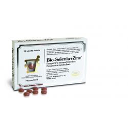 Bio-Seleniu + Zinc x 30cps Pharma Nord