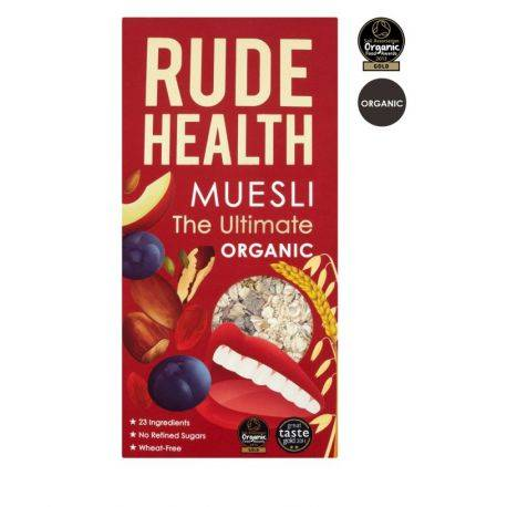 Muesli Organic The Ultimate x 500g Rude Health