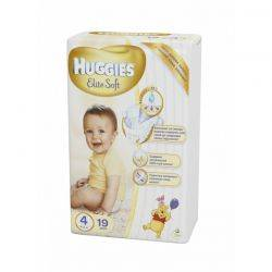 Huggies Elite Soft 2 (4-7kg) x 27buc