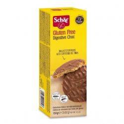 Digestive Choc Biscuiti digestivi fara gluten cu ciocolata x 150g Dr.Schar