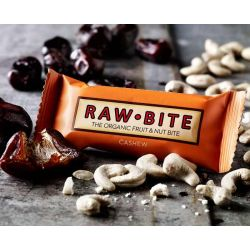 RawBite Baton proteic cu caju x 50g