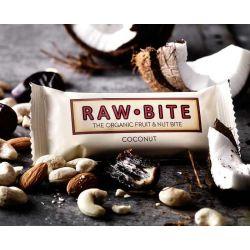 RawBite Baton proteic cu nuca de cocos x 50g