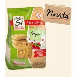 Biscuiti vegani fara gluten cu fructe rosii x 250g NUTRISI