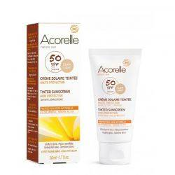 Crema protectie solara SPF 50 colorata - nuanta deschisa x 50ml