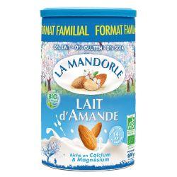 Lapte praf de migdale format familial x 800g La Mandorle