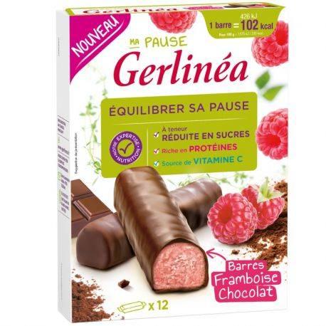Batoane Ciocolata-Zmeura x 372g Gerlinea