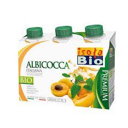 Bautura bio premium de caise 3x 200ml Isola Bio