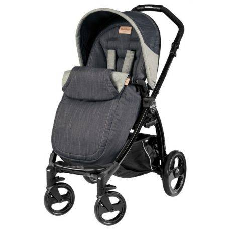 Carucior BOOK Plus Black Completo Denim Peg Perego