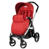 Carucior BOOK Plus Black&Silver Completo Peg Perego