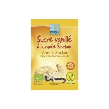 Zahar vanilat bio  fara gluten x 8 g Plural