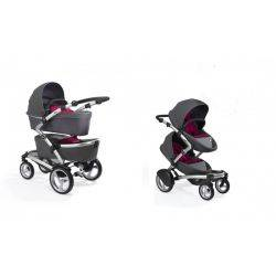 Carucior gemeni 2 in 1 Dark Grey Kobi - Mima