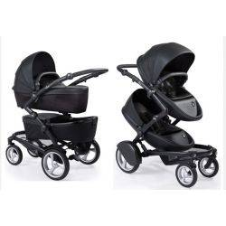 Carucior gemeni 2 in1 Kobi, Flair Black - Mima
