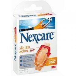 Plasturi Activ Sport 360 x 20buc asortati Nexcare