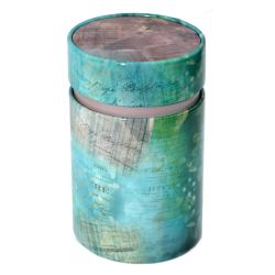 Sinas Cutie pentru ceai vintage cu capac interior (Albastra) x 150g