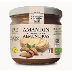 Crema de migdale bio fara gluten x 330g Amandin