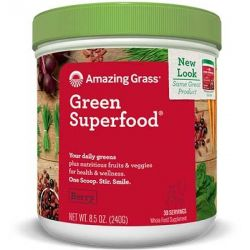 Amazing Grass - Green Superfood Acai si Goji x 30portii (240g)