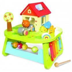House of Toys - Centru de joaca din lemn Activity Table