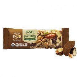 Baton bio cu nuci de Brazilia vegan, fara gluten x 40g Taste of Nature