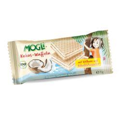 Napolitane cu crema de cocos x 15g Mogli