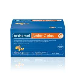 Orthomol Immun Junior C Plus Fructe de padure x 30tb masticabile