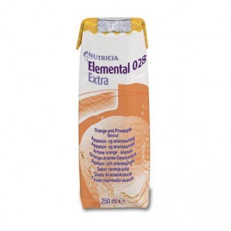 Elemental 028 Extra portocale/ananas x 250ml Nutricia