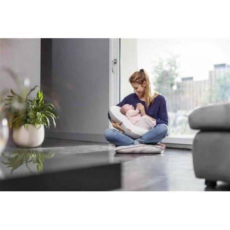 Perna Multifunctionala 3 In1 Mum & B Soft White - Babymoov