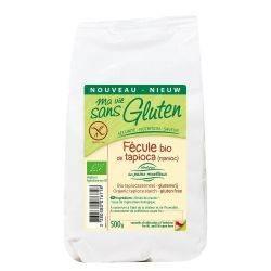 Amidon din tapioca bio x 500g Ma vie sans gluten