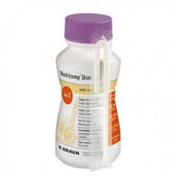 Nutricomp Drink Plus Vanilie (4x200ml) BBraun